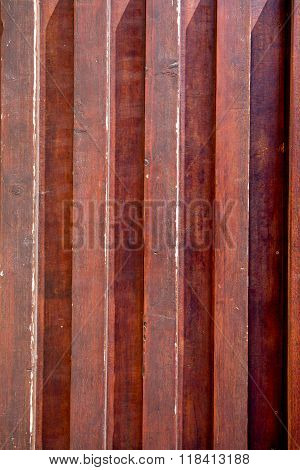Old, Marsala Colored Grunge Wood Panels Used As Background,