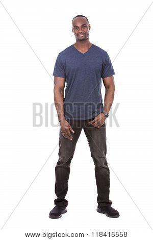 Handsome Black Man
