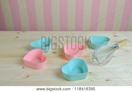 Muffin Liners And Kitchen Wall