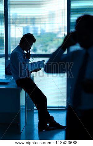 Examining document