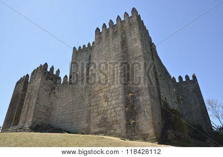 A View Of Guimaraes Castle