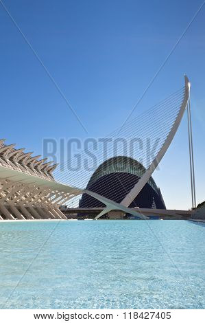 The City Of Arts, Oceanographic And Sciences, Valencia