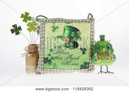Irish Pillow