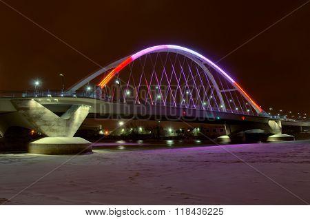 Lowry Avenue Bridge In Minneapolis