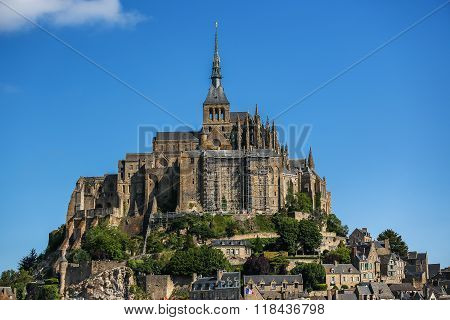 The Fortress Mont Saint Michel - France