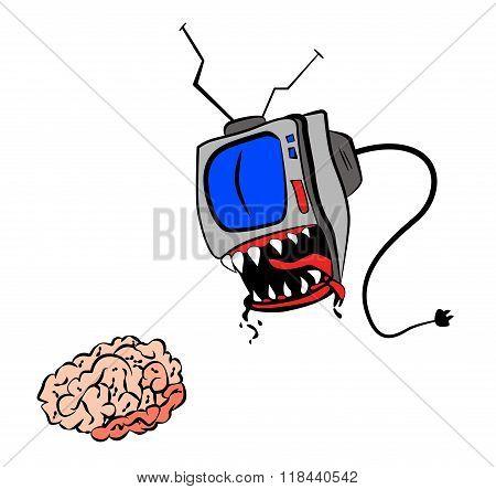 TV eat your brain