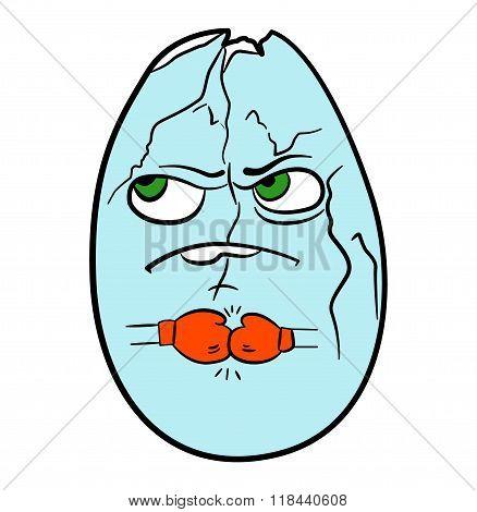 Nutritious egg ready for battle