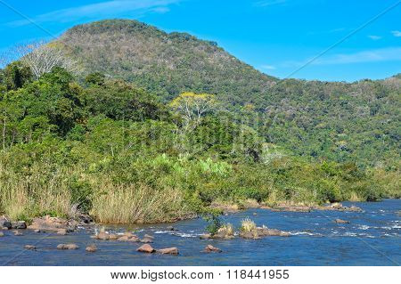 Landscapes Around Mountain Pine Ridge Forest Reserve In Beliz