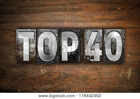 Top 40 Concept Metal Letterpress Type