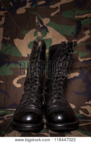 Boots And Camouflage