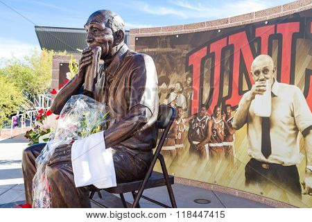Jerry Tarkanian Statue And Memorial