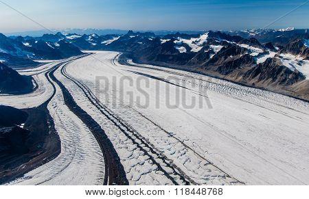 Kahiltna Glacier Near Denali