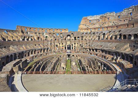Coliseum Inside, Rome, Italy