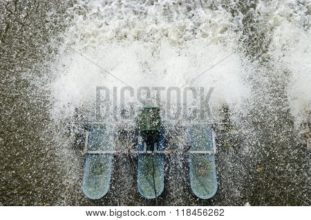 Splash Of Water Turbines.