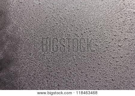 Waterdrops on  car