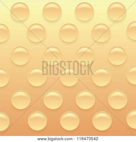 Orange Bubblewrap Background.