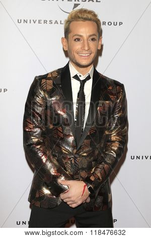 LOS ANGELES - FEB 15:  Frankie Grande at the Universal Music Group's 2016 Grammy After Party at the Ace Hotel on February 15, 2016 in Los Angeles, CA