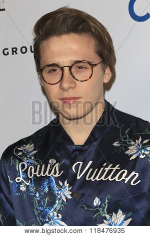 LOS ANGELES - FEB 15:  Brooklyn Beckham at the Universal Music Group's 2016 Grammy After Party at the Ace Hotel on February 15, 2016 in Los Angeles, CA