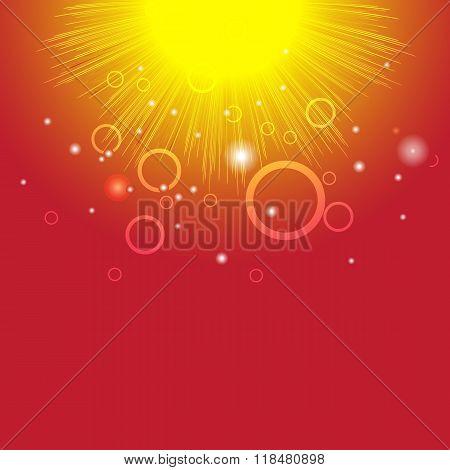 Vector Sun Texture