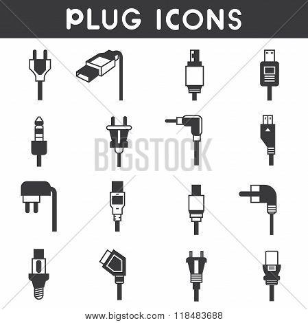 plug icons