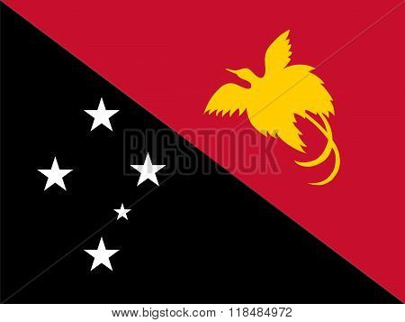 Standard Proportions For Papua New Guinea Flag