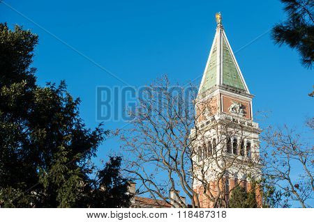St Mark's Campanile In Venice
