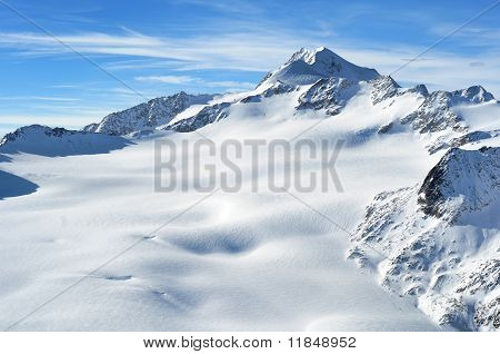 Austrian Highest Mountain Wildspitze 3776M.