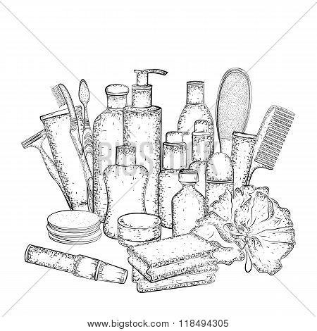 Hygiene set