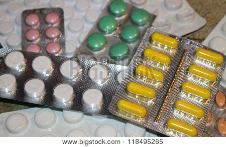 Pills in blister pack