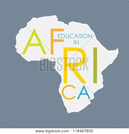 Business School Education in Africa Concept Vector Illustration