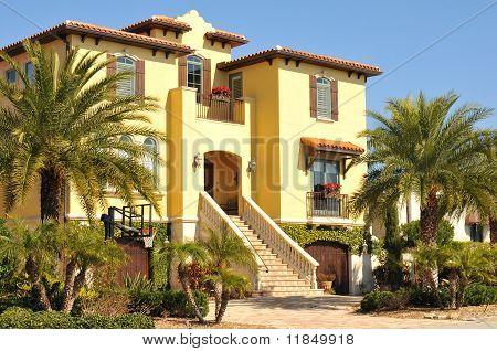 Beautiful three story spanish home in Florida