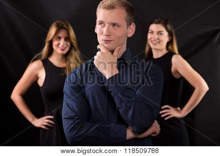 Macho And Attractive Women