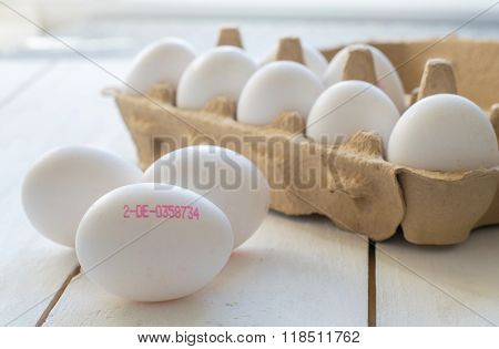 Fresh Eggs with Control Number