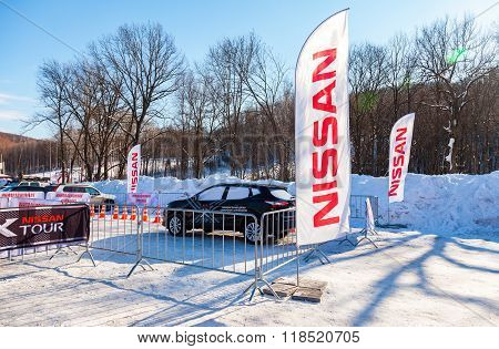 Cars Event Nissan X-tour At The Ski Resort Krasnaya Glinka In Samara, Russia