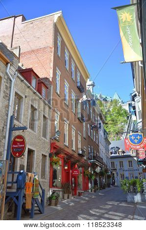 Quebec City Houses, Canada