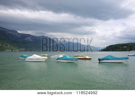 View Of The Lake Of Annecy