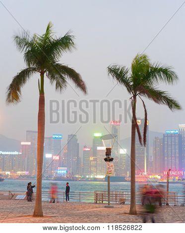Hong Kong Quayside