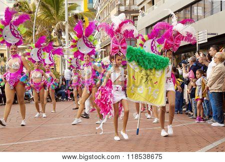 Las Palmas Carnival 2016