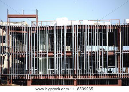 Park House construction site