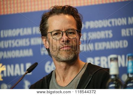 Guy Pearce  attends the 'Genius' press conference during the 66th Berlinale International Film Festival Berlin at Grand Hyatt Hotel on February 16, 2016 in Berlin, Germany.