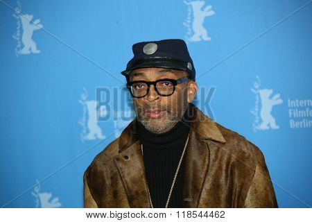 Spike Lee attends the 'Chiraq' premiere during the 66th Berlinale International Film Festival Berlin at Grand Hyatt Berlin Hotel, in Berlin, Germany on February 16, 2016.