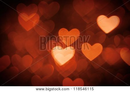 heart background photo brown color
