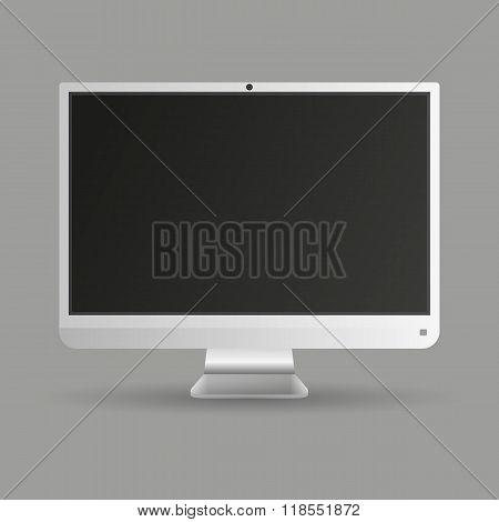 computer screen display