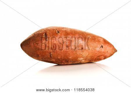 Image of sweet potato studio isolated on white background