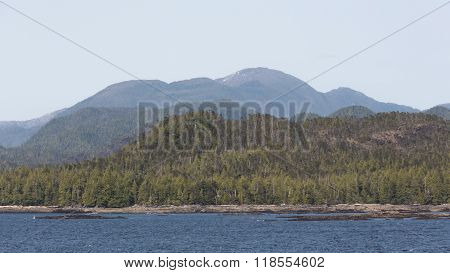 The Mountains and Forests of the Inside Passage