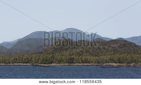 The Forests and Mountains of the Inside Passage