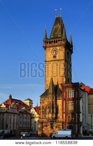 Old Town Hall with Astronomical Clock, prague city centre