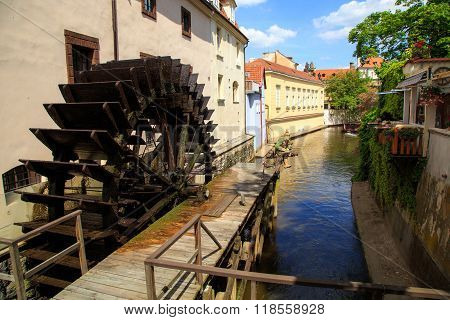 historic Water Mill in Prague, Water Mill