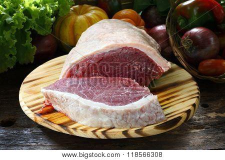 Raw steak, picanha