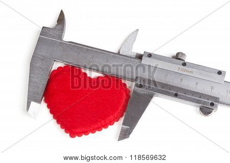 Measures The Size Of The Heart
